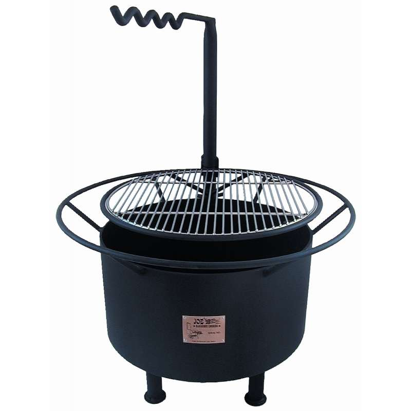 Rumo Barbeuqe JOEs Campfire 20 Zoll Feuerstelle mit Grillrost und Schwenkarm