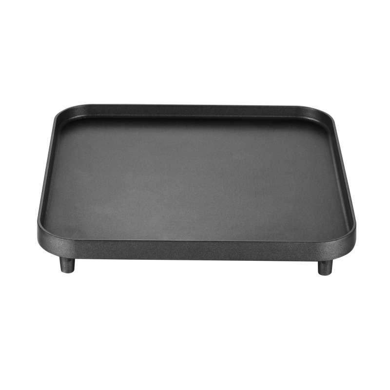 Cadac Glatte Grillplatte für 2-Cook antihaftbeschichtete Oberfläche 25 x 25 cm 202-200
