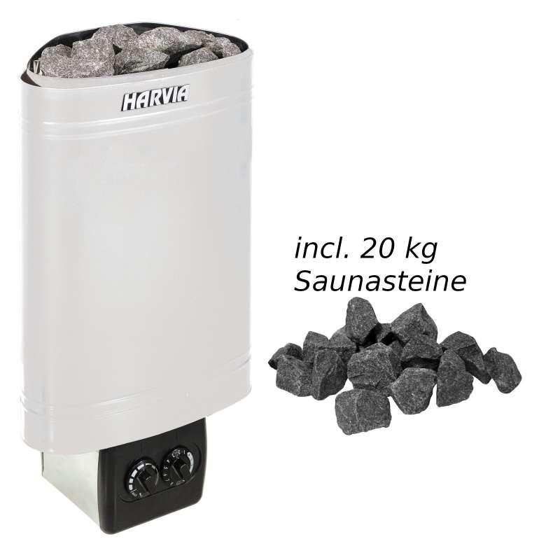 Harvia Saunaofen Delta 2,3 kW Elektroofen D23 Saunaheizung Saunaheizgerät