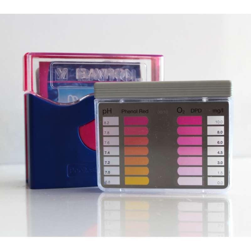 Bayrol Pooltester pH/Aktivsauerstoff inkl. 2 x 20 Tabletten Poolpflege 287988