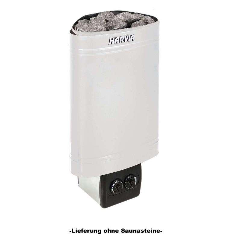 Harvia Saunaofen Delta 2,3 kW Elektroofen D23 mit integrierter Steuerung