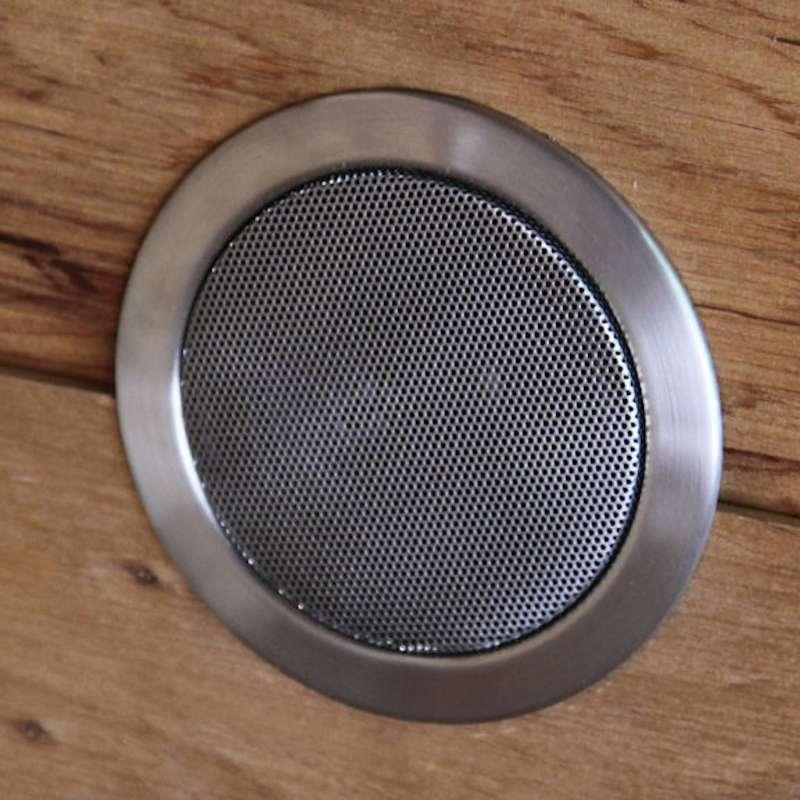 Harvia Lautsprecher DL8ES Edelstahl 30 W ø 8 cm Saunalautsprecher Saunabau