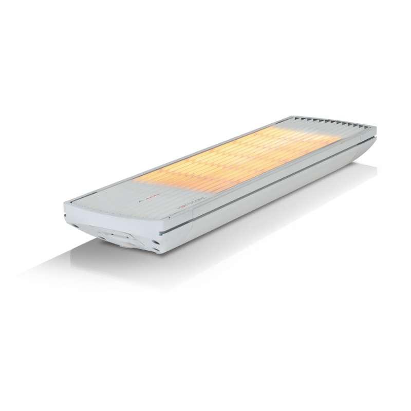 Heatscope Spot Heizstrahler 2200 W Heizelement Carbonstrahler schwarz oder weiß mit IR-Fernbedienung