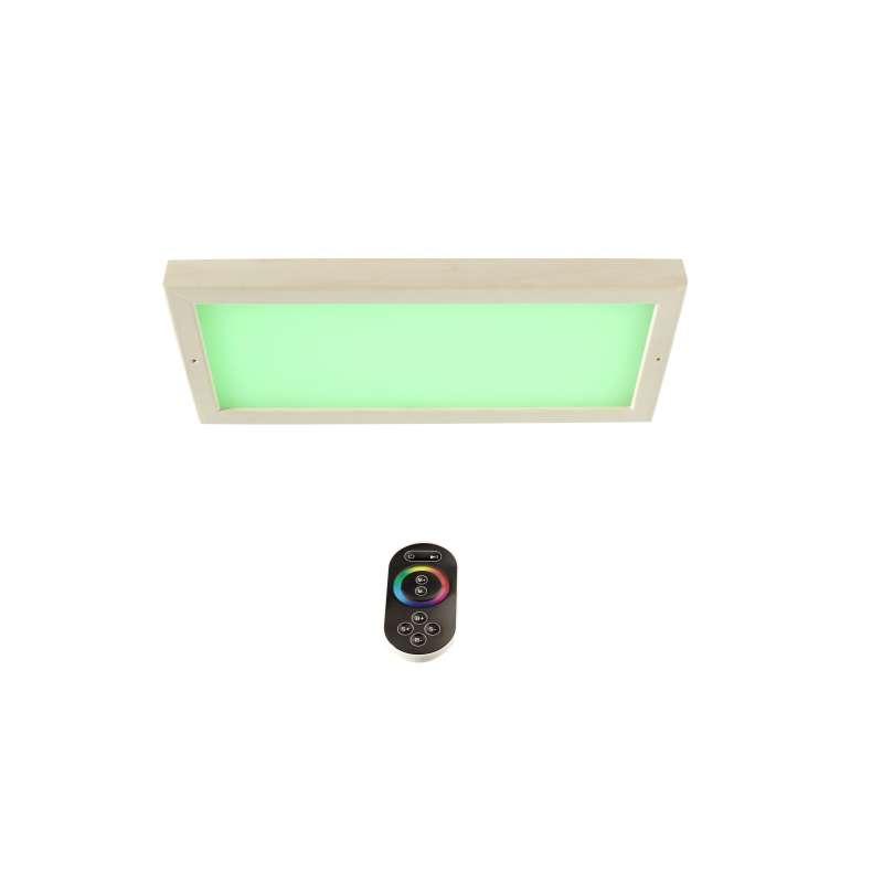 Infraworld LED Farblicht Sion 3A Erle Deckenmontage - EEK: C Spektrum A++ bis E - S2299A farblich
