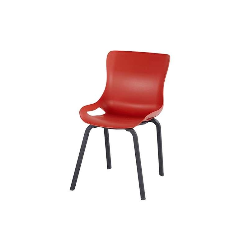 Hartman Sophie Pro Dining chair Carbon Black Vulcano Red Gartensessel 11684843
