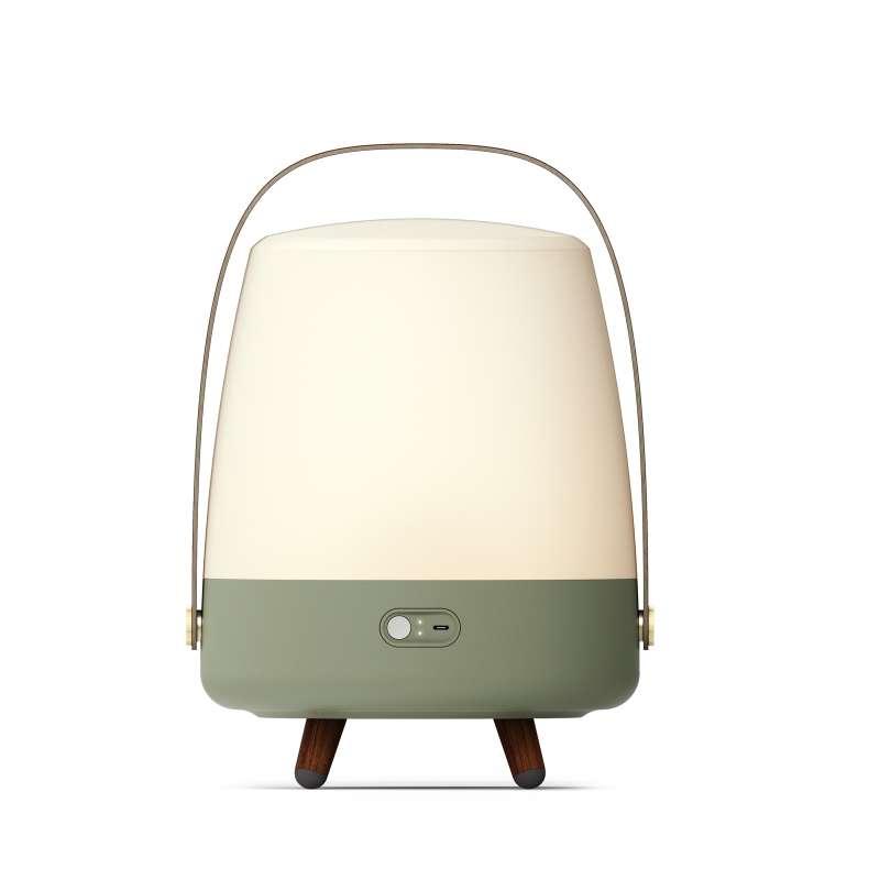 Kooduu Lite-up Play Petroleum LED Standleuchte Dimmbar Kabelloser Bluetooth-Lautsprecher koppelbar