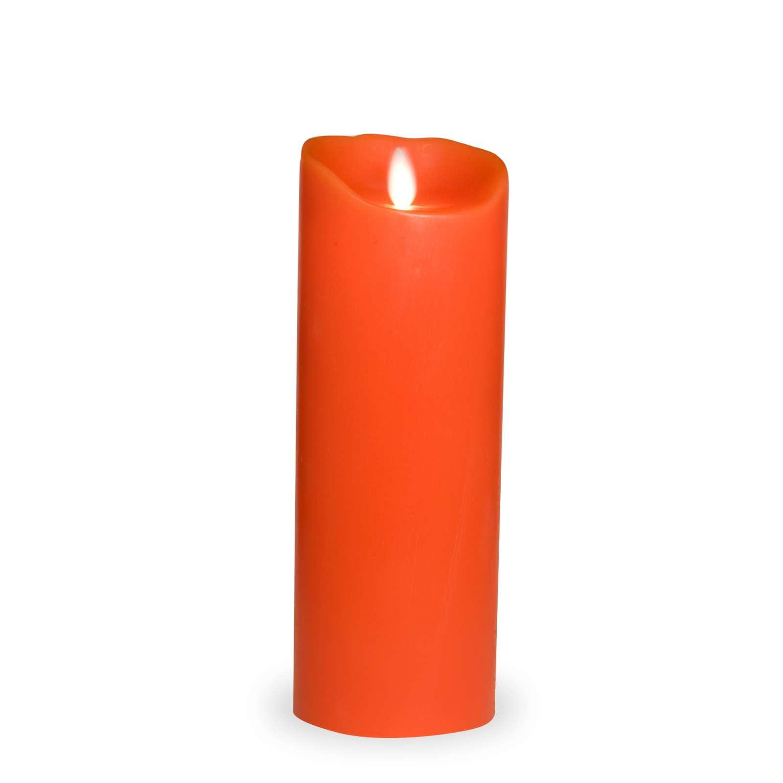 Led Kerze 50 Cm : sompex flame led kerze echtwachs glatt mit timer 8 cm x 23 cm rot 35802 ~ Pilothousefishingboats.com Haus und Dekorationen