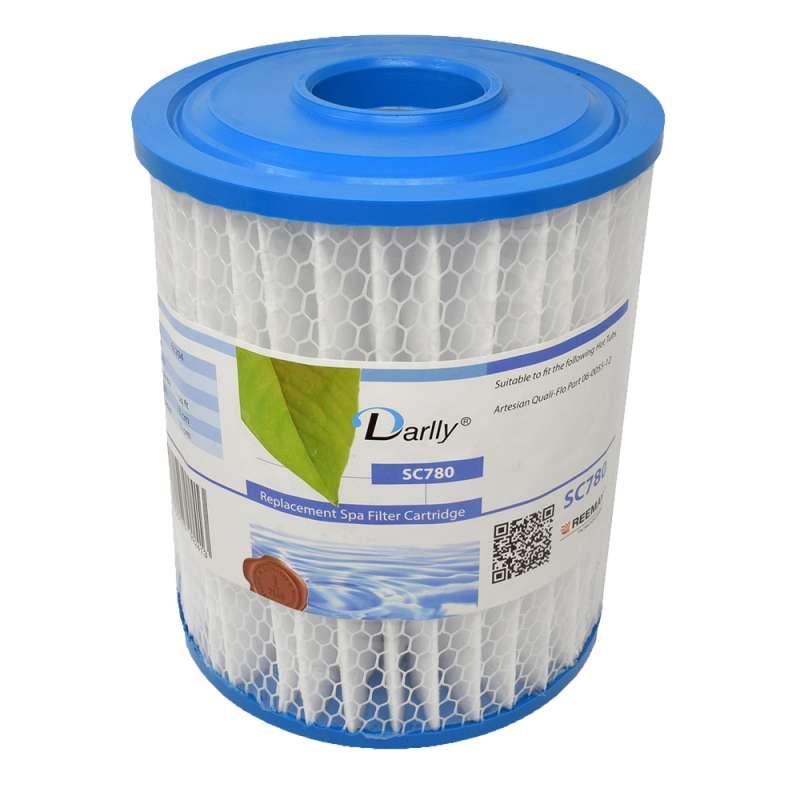 Darlly® Filter Ersatzfilter Lamellenfilter Artesian Quali-Flo SC780 Whirlpool