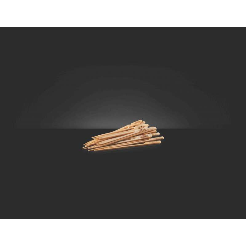 Napoleon Holz-Spieße aus Bambus 15 cm lang 48 Stück 70116
