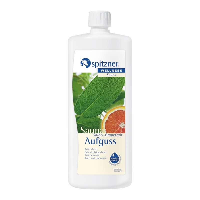 Spitzner Saunaaufguss Salbei Grapefruit 1L 8850052