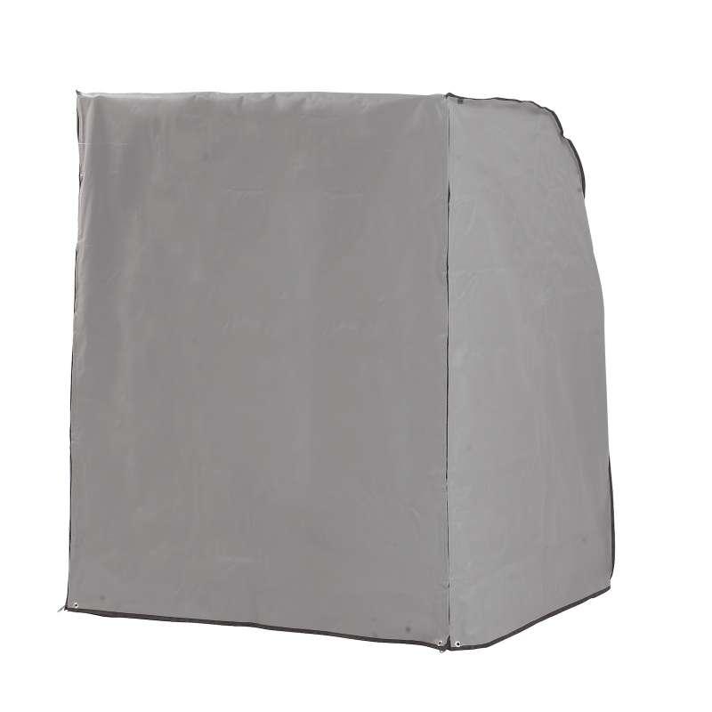 Sonnenpartner Schutzhülle für Strandkorb 2-Sitzer grau Strandkorbhülle mit Reißverschluss SunnySmart