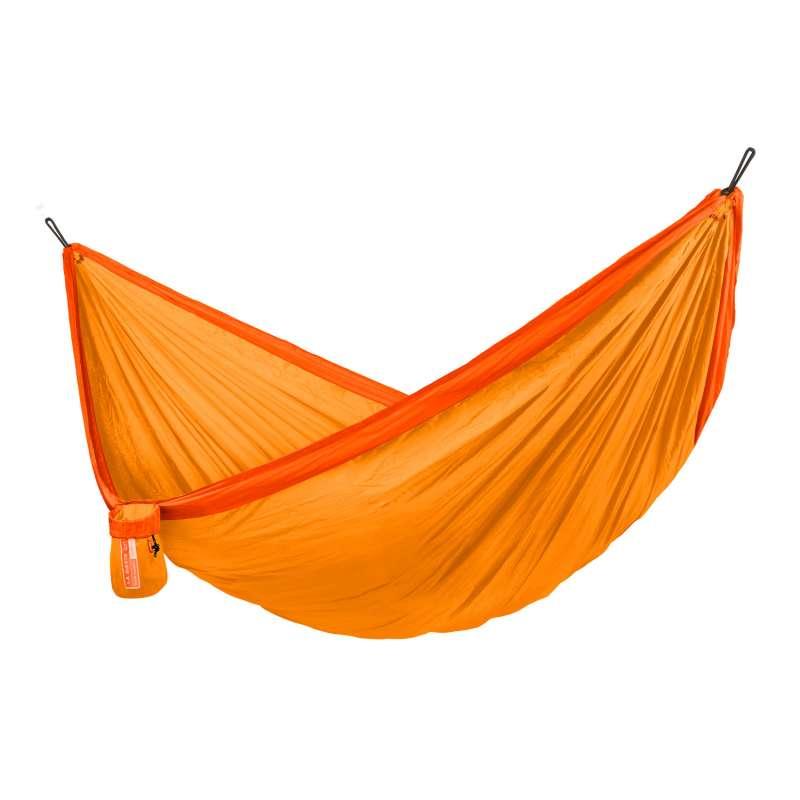 La Siesta Reise-Hängematte COLIBRI 3.0 sunrise orange Einzel-Hängematte inkl. Befestigungsmaterial