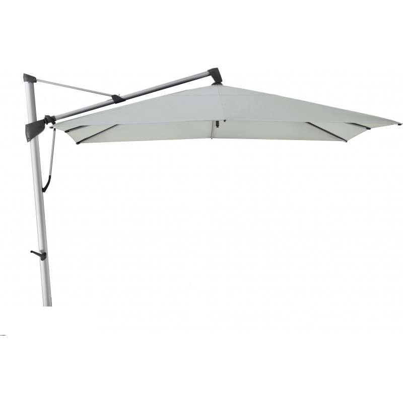 GLATZ Sonnenschirm SOMBRANO® S+ 300 x 300 cm Stoffklasse 5 Chrome 665