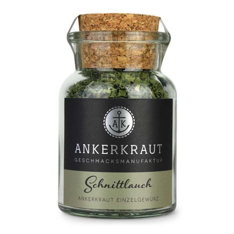 Ankerkraut Schnittlauch-Röllchen Küchengewürz für Rührei und Omelett im Korkenglas 8 g