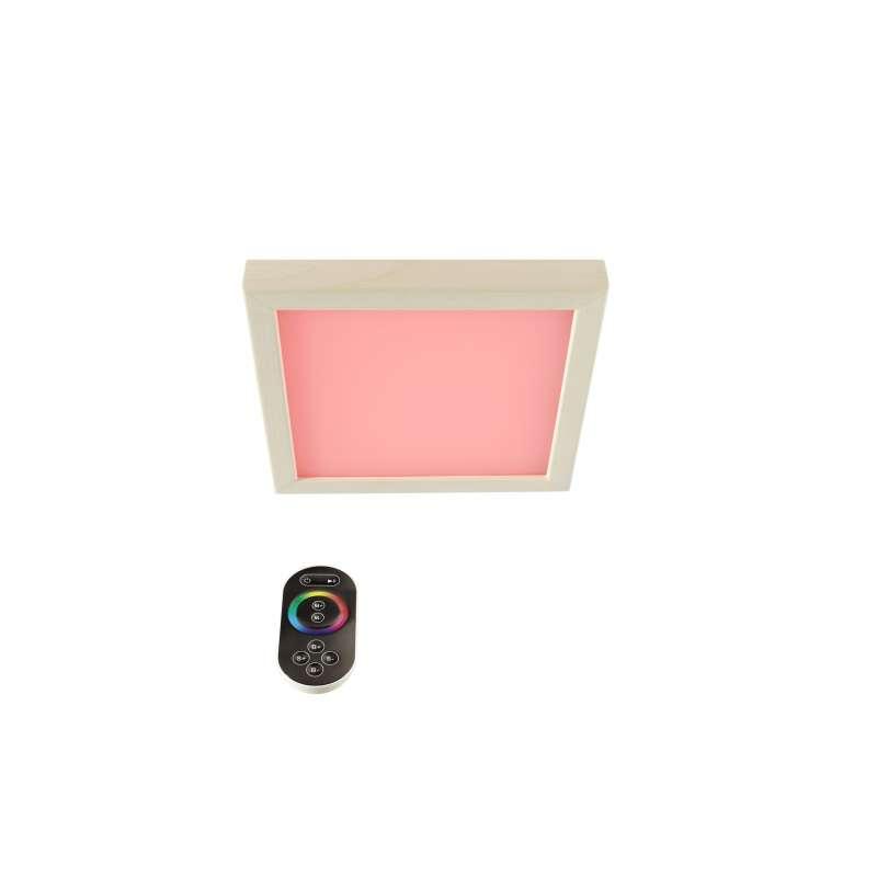 Infraworld LED Farblicht Sion 1A Erle Deckenmontage - EEK: B Spektrum A++ bis E - S2291a Decken LED
