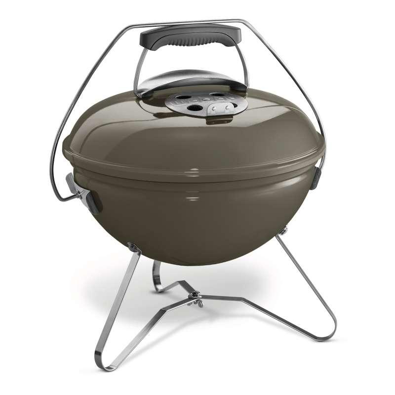Weber Holzkohlegrill Smokey Joe Premium ø 37 cm Smoke Grey mit Transporttasche