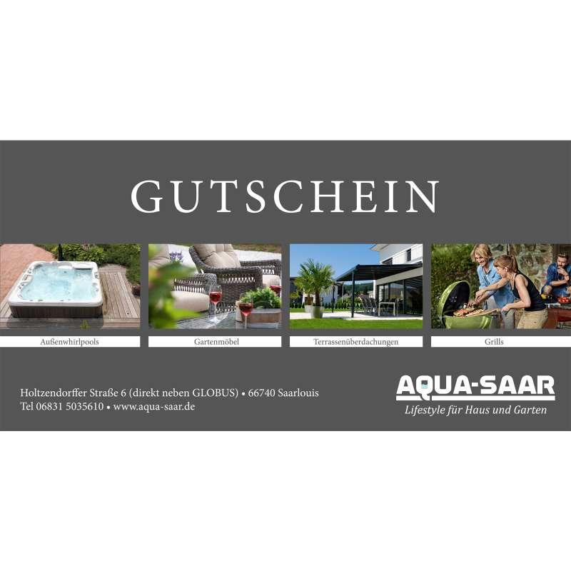 Aqua-Saar Geschenkgutschein für Sie und Ihn 50 €