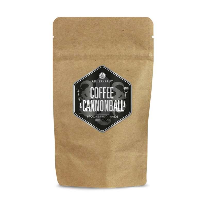 Ankerkraut Coffee Cannonball BBQ Rub Gewürzmischung in der Tüte Nachfüllpack 250 g