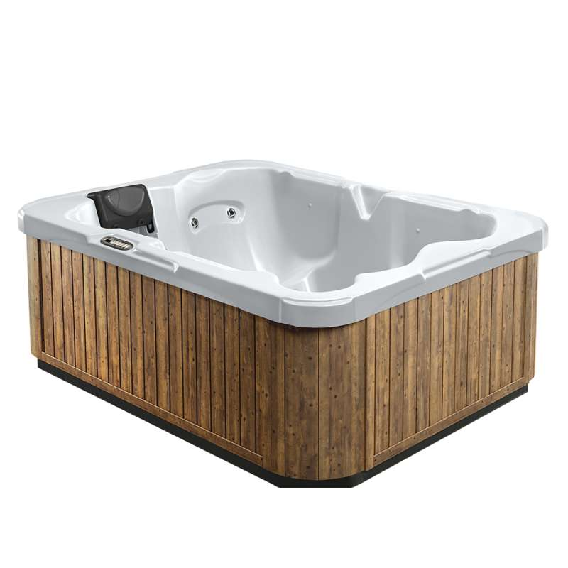 Dimension One Serenade Spa Whirlpool für 2-3 Personen 213 x 169 x 76 cm grau/weiß