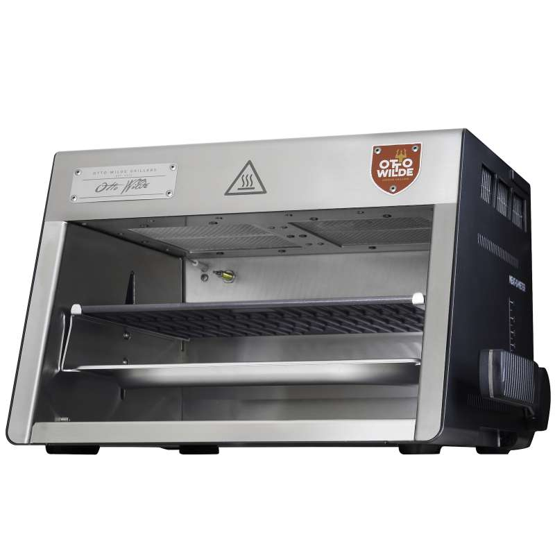Otto Wilde Griller O.F.B. Gasgrill Over-Fired-Broiler Steakgrill 42,5x44x29,5 cm