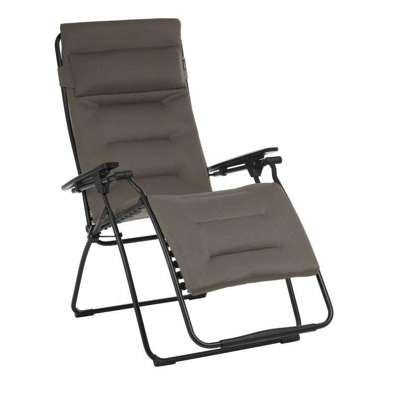 Lafuma Relaxliege Sonnenliege Futura XL AC Air Comfort® Taupe LFM3114.7057