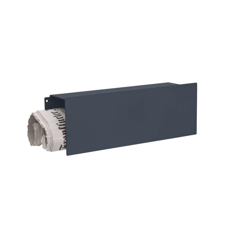 Heibi Zeitungsrolle Scatalux Aluminium pulverbeschichtet Grau 64490-033