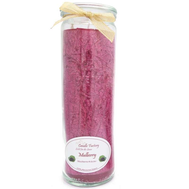 Candle Factory Kerze Big Jumbo Mulberry Duftkerze Dekokerze pflaume 306-051
