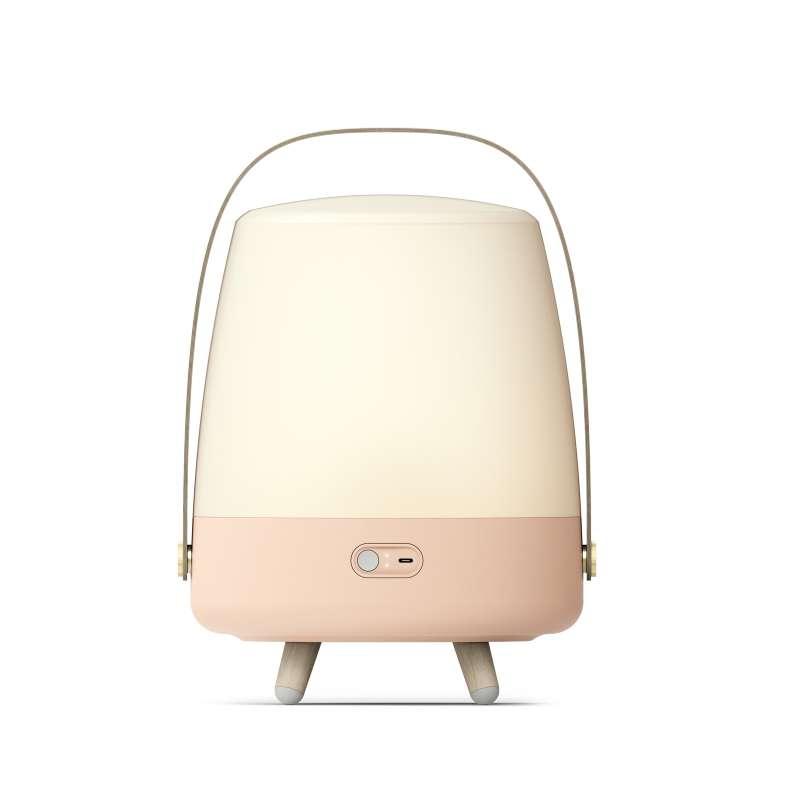 Kooduu Lite-up Play Light Rose LED Standleuchte Dimmbar Kabelloser Bluetooth-Lautsprecher koppelbar