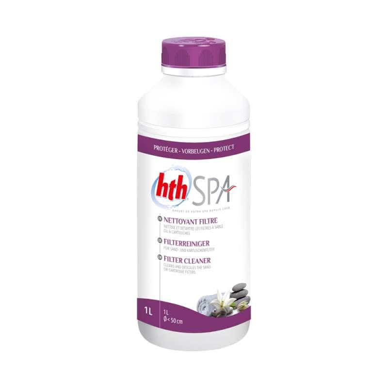 hth Spa Filter Reiniger 1 L (1000 ml) Filterreiniger für Whirlpools und Spas