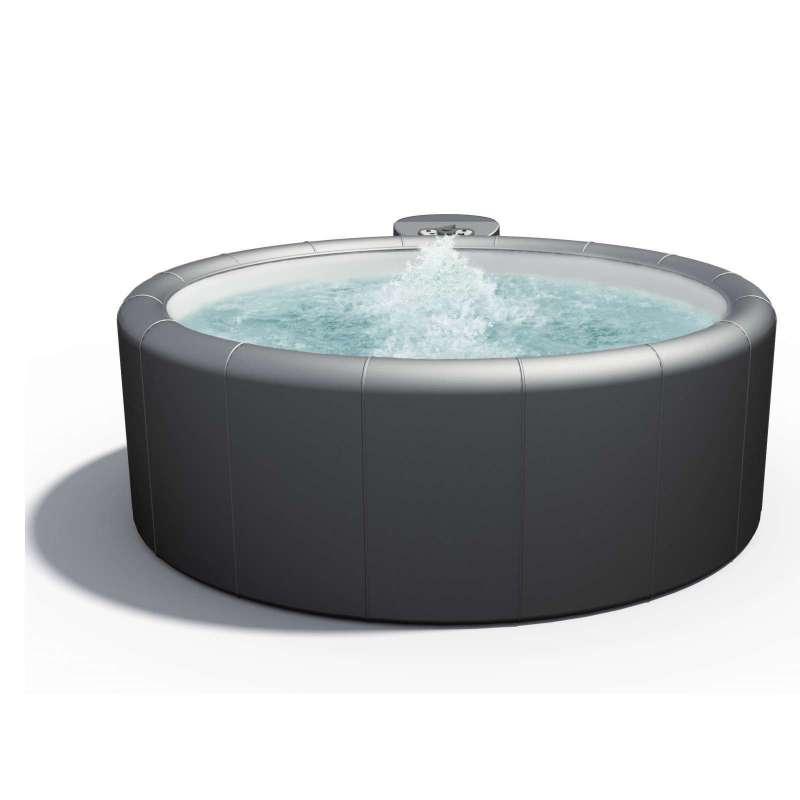Softub Whirlpool Poseidon® Jubiläumsmodell Resort 300 5-6 Personen Taupe / Graphite
