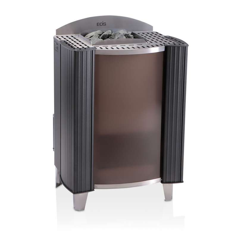 Eos Premium Saunaofen Standofen Germanius 12 kW anthrazit perleffekt 94.3931