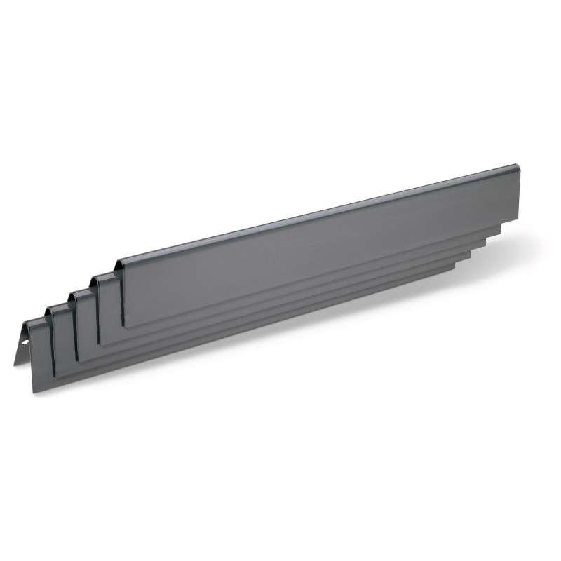 Weber Flavorizer Bars Stahl 5 Stück emailliert Spirit 300-Serie bis 2012 und Genesis B