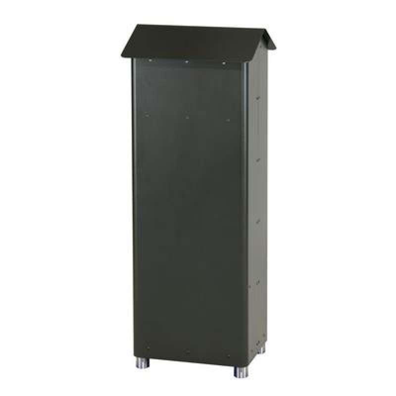 Heibi Postkasten GRAN-SECURO 02 feuerverzinktes Stahlblech schwarz Glimmer