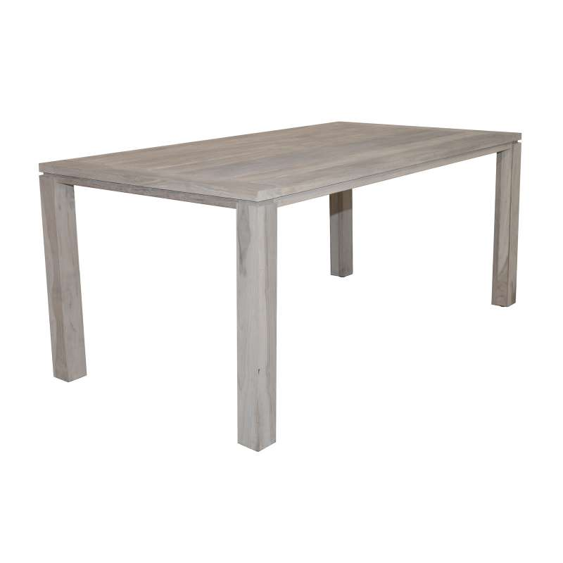 Aqua-Saar Dining Table Teaktisch 180 x 95 cm Teakholz AS95598 little Amsterdam