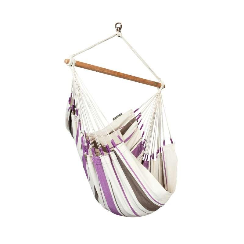 La Siesta Hängestuhl Basic CARIBENA Farbe Purple Hängesessel CIC14-7