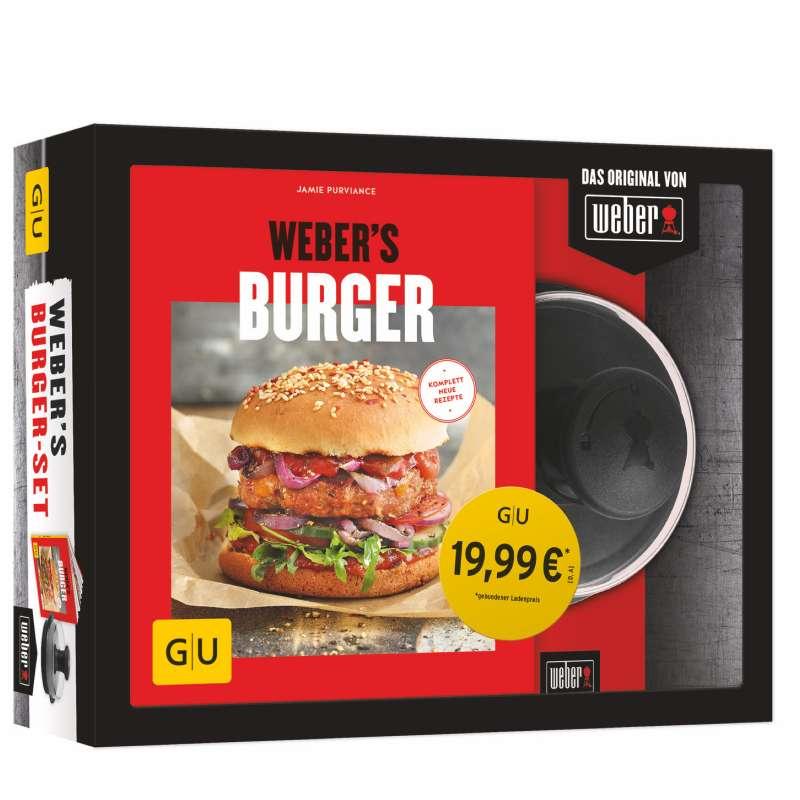 Weber´s Burger Set Kochbuch