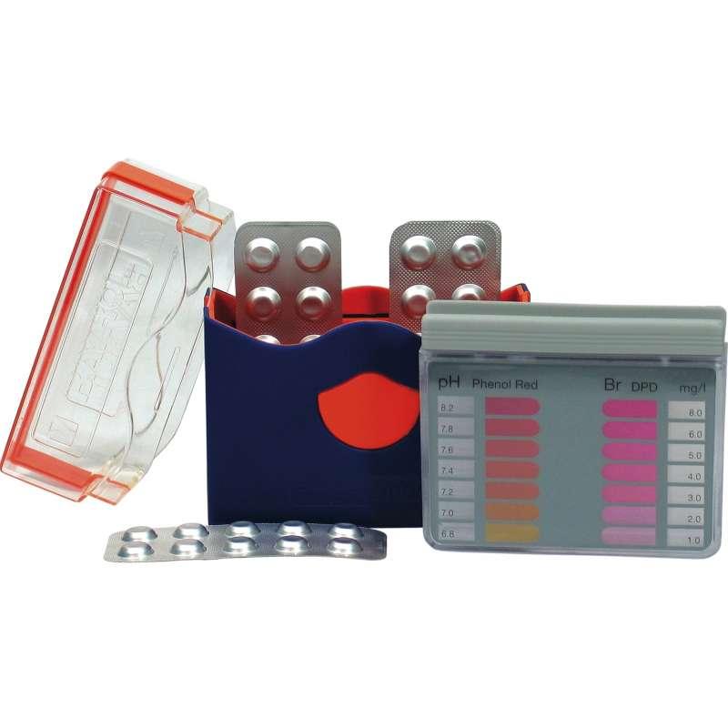Bayrol Pooltester Messung von pH/Brom inkl 2 x 20 Tabletten Poolpflege 287126