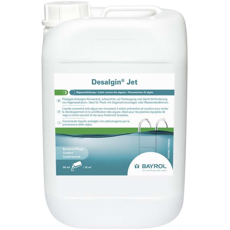 Bayrol Desalgin Jet 6 Liter Algenverhütung Algenschutz Poolpflege 1141503