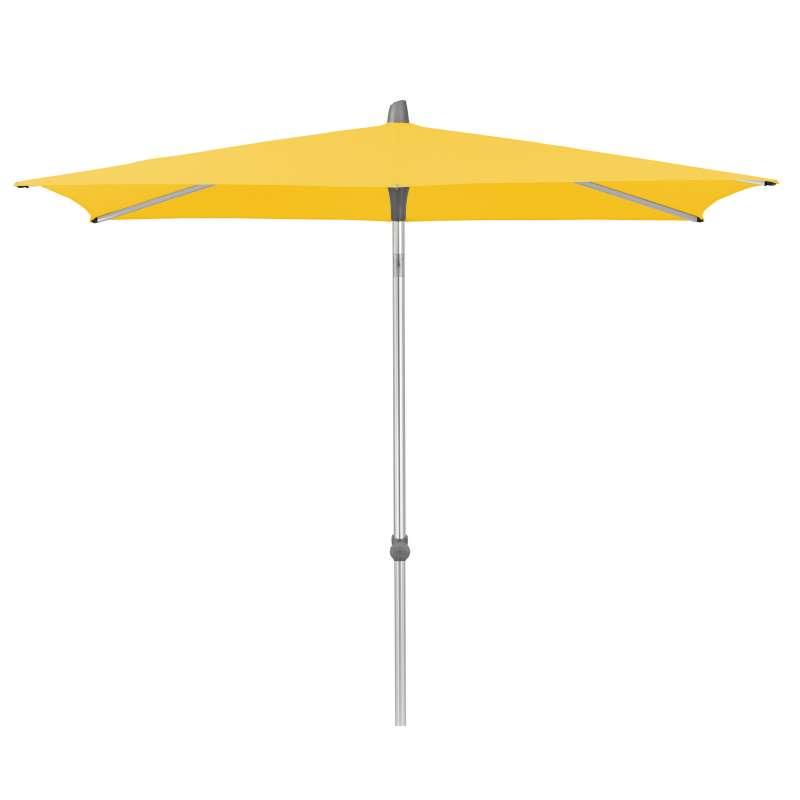 GLATZ Sonnenschirm ALU-SMART easy quadratisch 200 x 200 cm Stoffklasse 2 Bright Yellow