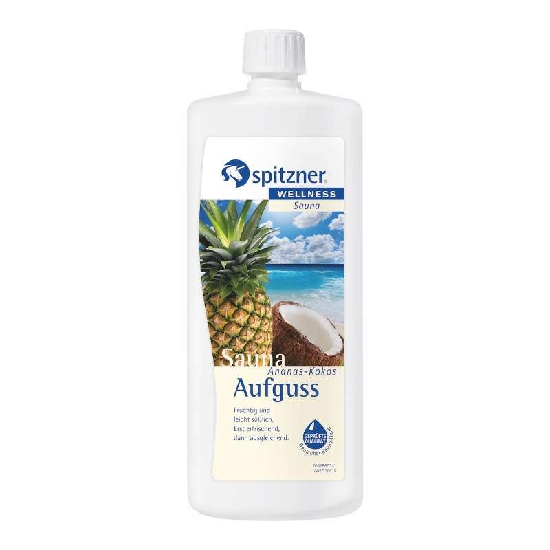 Spitzner Saunaaufguss Ananas-Kokos 1 Liter 8850067