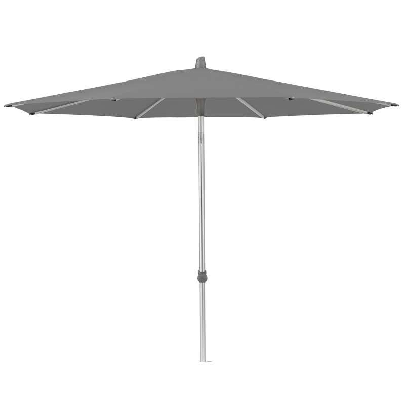 GLATZ Sonnenschirm ALU-SMART rund ø 250 cm Stoffklasse 4 Smoke 420