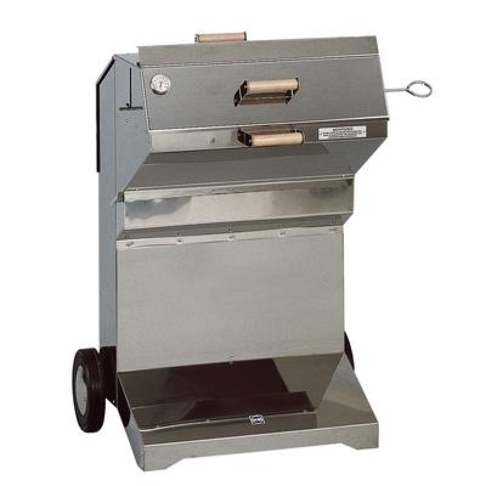 heibi edelstahl holzkohle grill 51195 072 ebay. Black Bedroom Furniture Sets. Home Design Ideas