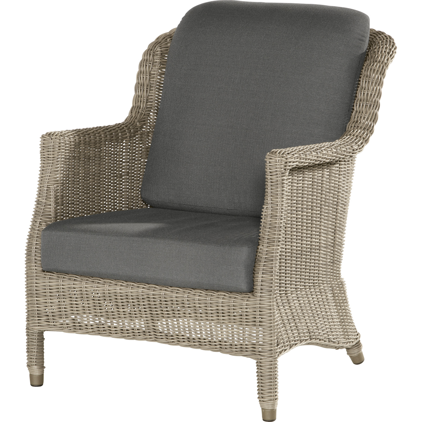 4Seasons Outdoor Del Mar living Sessel Polyrattan Pure Loungesessel ...