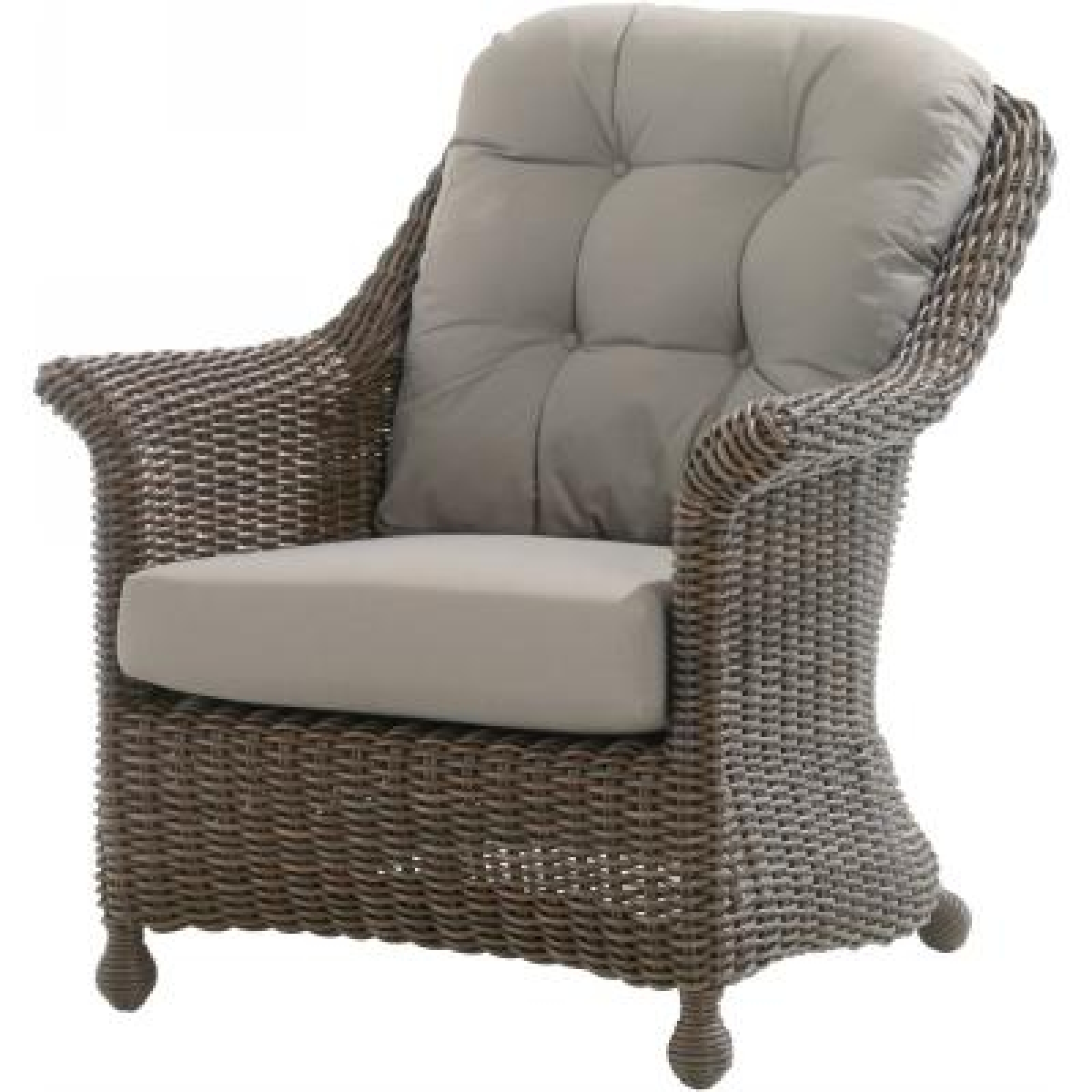 4Seasons Outdoor Madoera living Sessel Polyrattan Colonial inkl ...