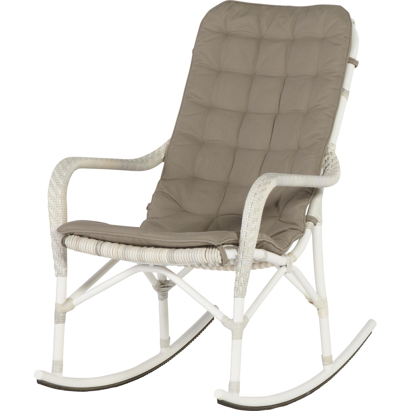 4seasons outdoor olivia rockig chair schaukelstuhl inklusive kissen