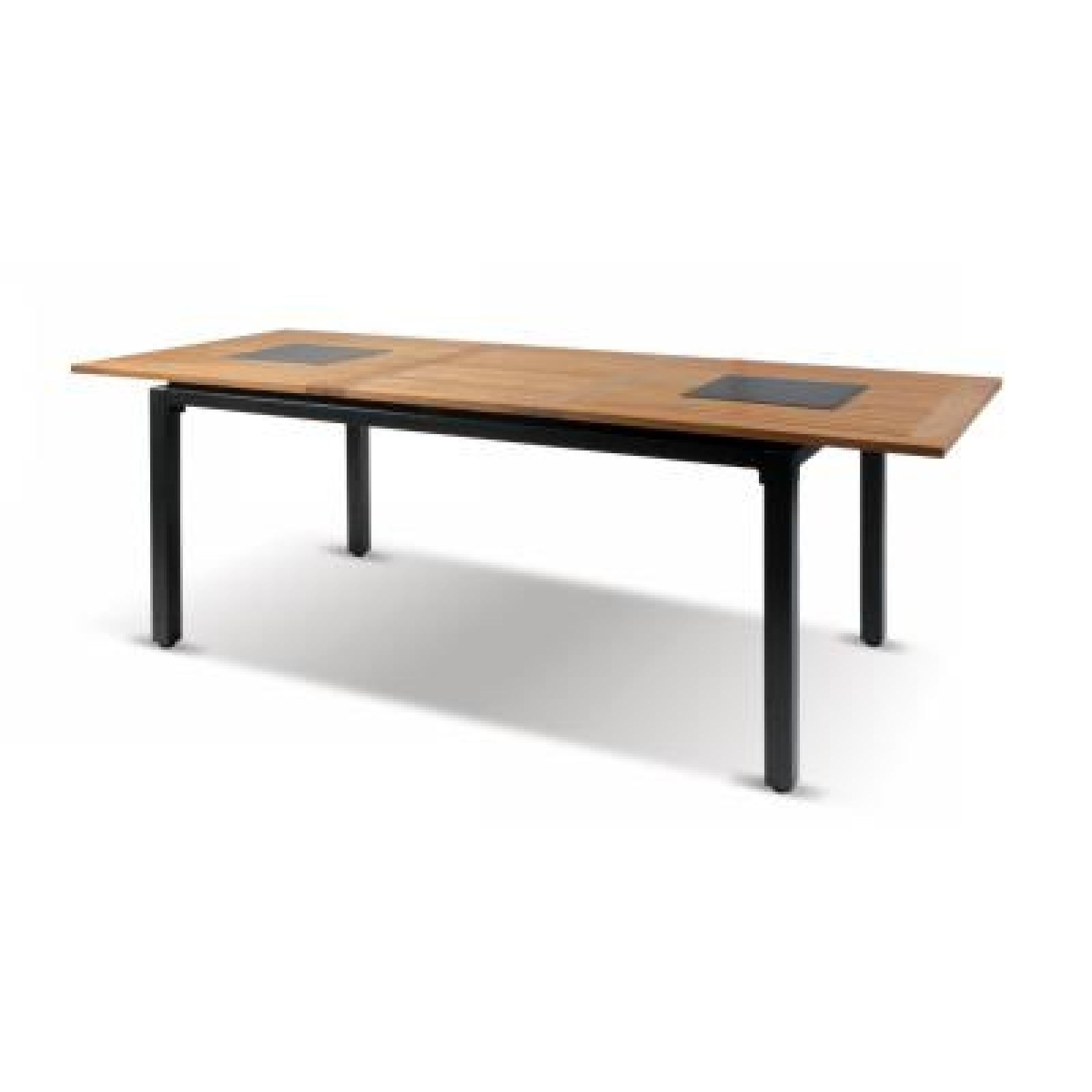 Hartman Concept Tisch Ausziehbar 180/240 X 100 Cm Teakholz/Aluminium  62416210
