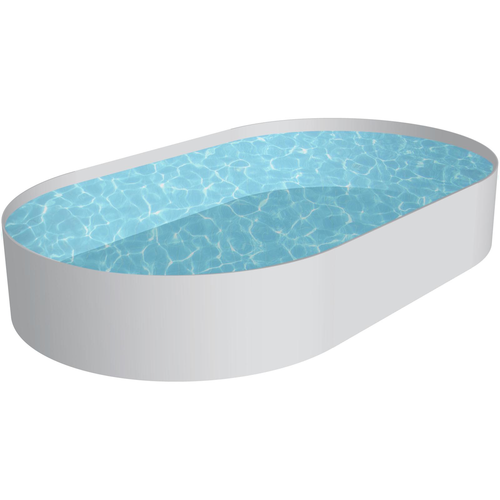 pool schwimmbecken oval stahlwand 4 gr en h he 150 cm. Black Bedroom Furniture Sets. Home Design Ideas