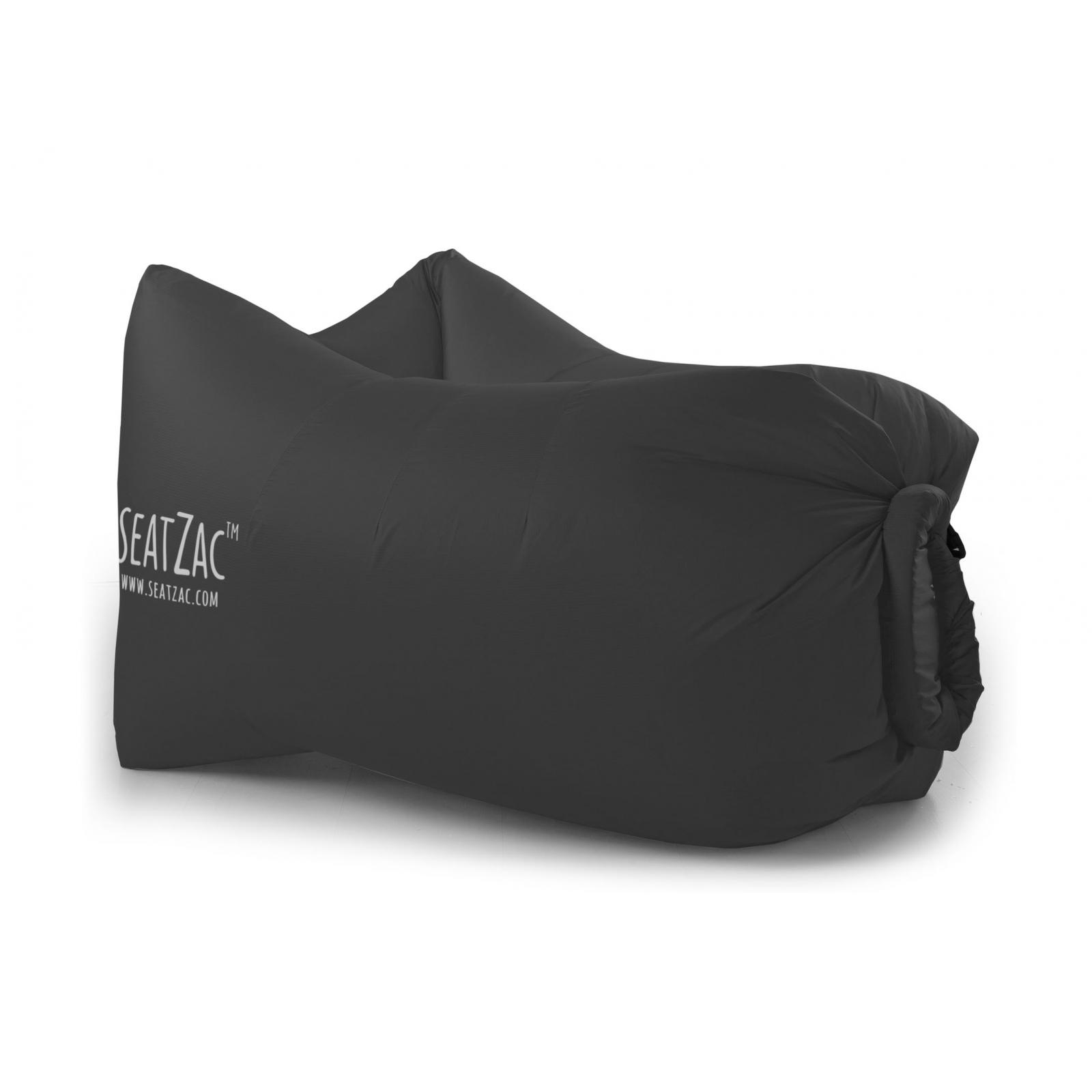seatzac chillbag polyester inkl tragetasche schwarz sitzsack luftsack luftsofa 4053682252386 ebay. Black Bedroom Furniture Sets. Home Design Ideas